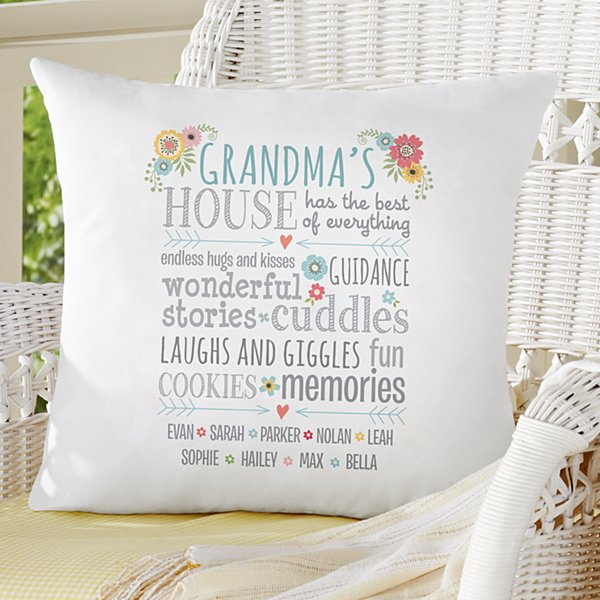 Favorite Memories Throw Pillow