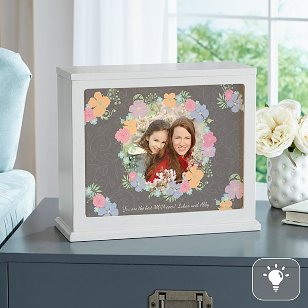 Floral Photo Accent Light