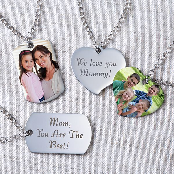 For My Mother Photo Pendant