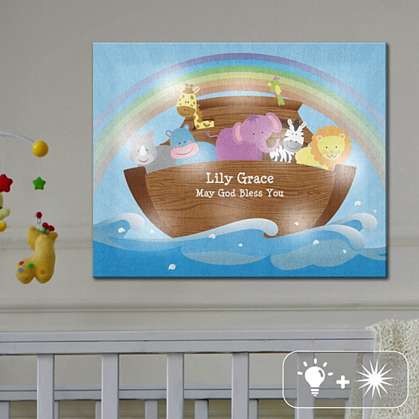 TwinkleBright® LED Noah's Ark Canvas