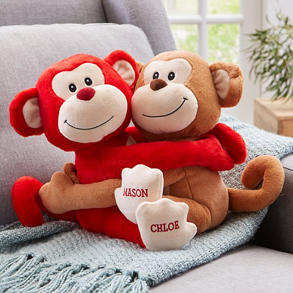 Hugs & Kisses Monkeys