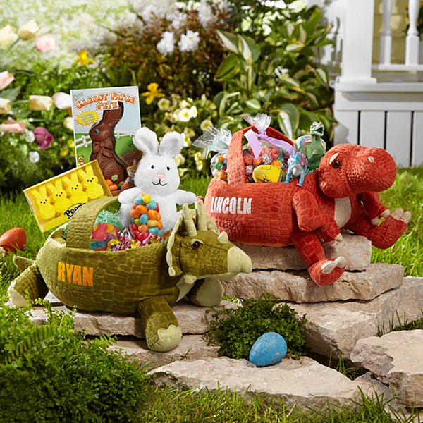 Pre-historic Friends Easter Basket