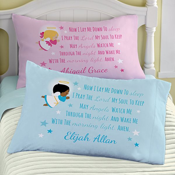 Children's Prayer Pillowcase