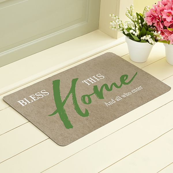 Our Home is Blessed Doormat