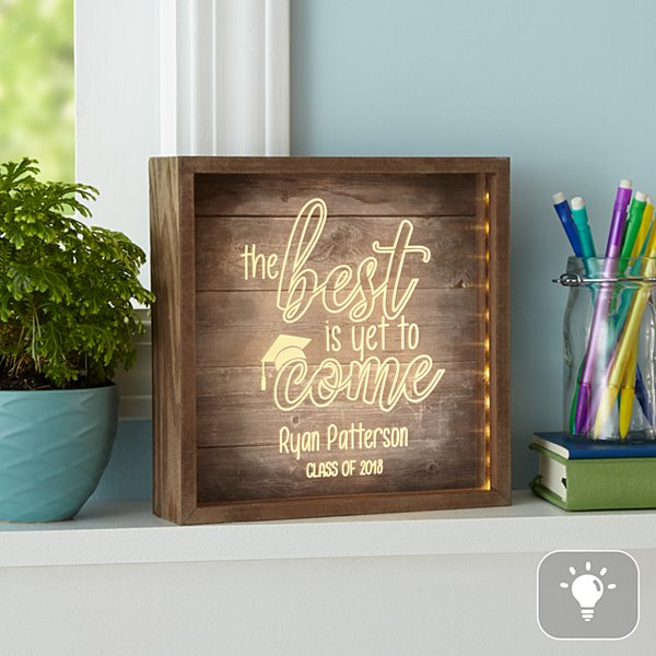 The Best Is Yet To Come Light Box