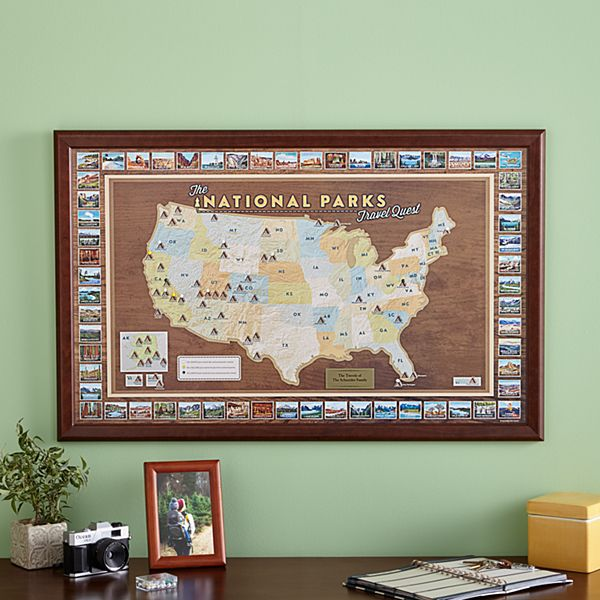 National Parks Destination Map