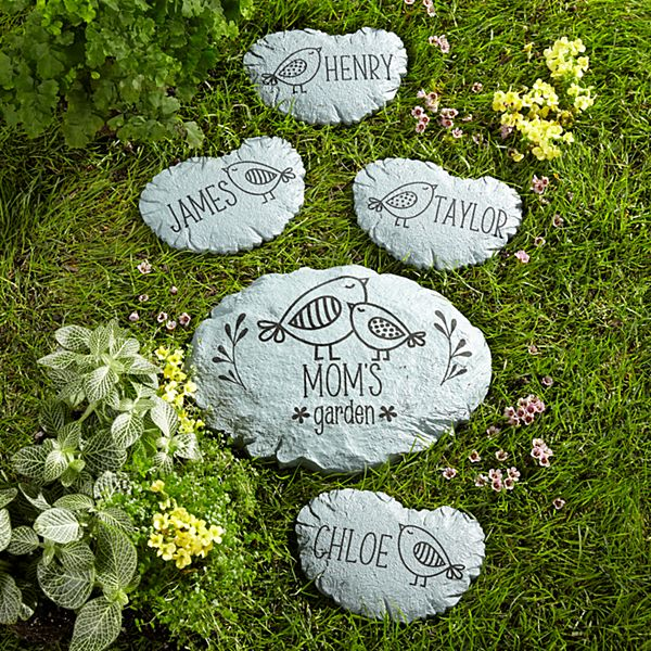 Little Birdies Garden Stepping Stone