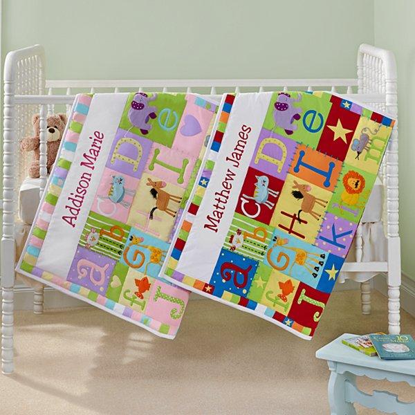 Baby Alphabet Quilt