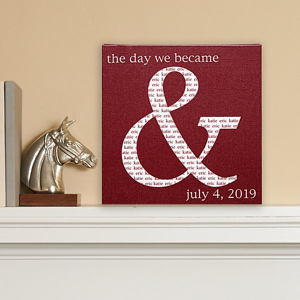 The Day We Became & Canvas