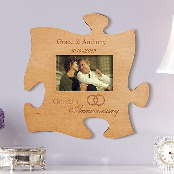Anniversary Puzzle Photo Frame