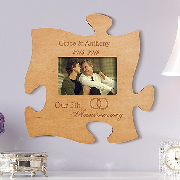 Anniversary Puzzle Photo Frame