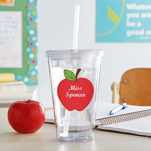 Apple for Teacher Tumbler