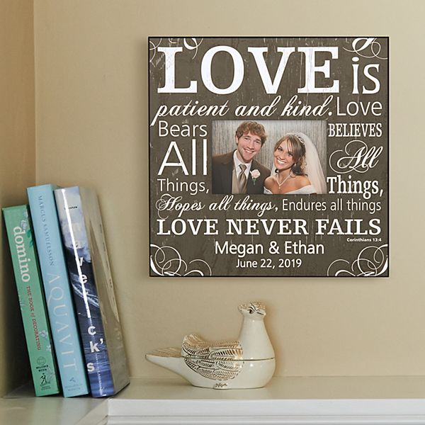 Love is Patient Frame