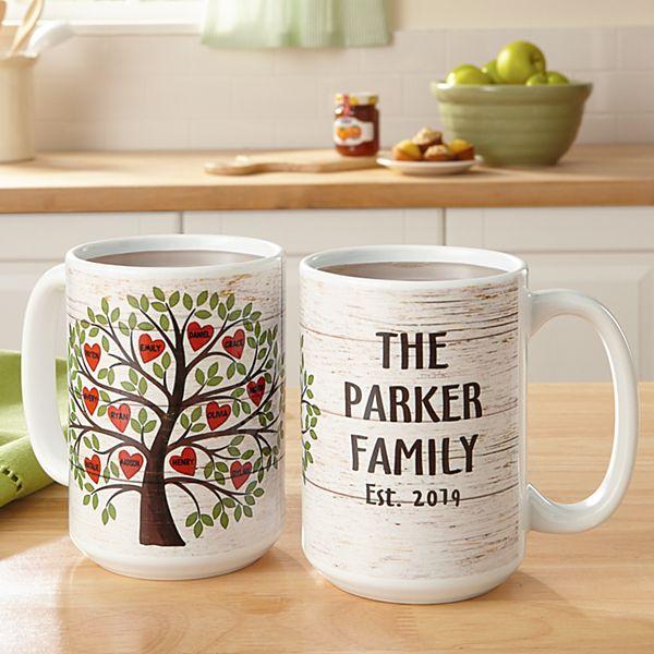 Family Tree of Hearts Mug