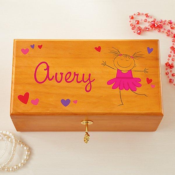 Happy Dancer Jewelry Box