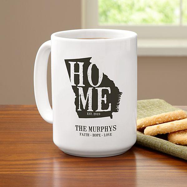 Home State Coffee Mug