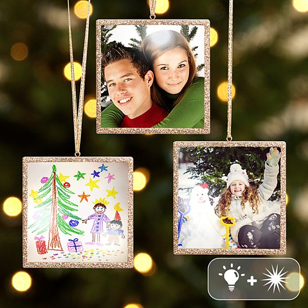 TwinkleBright® LED Photo Ornament