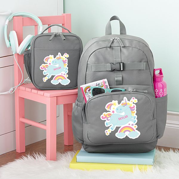 Fun Graphic Girls Charcoal Backpack Collection