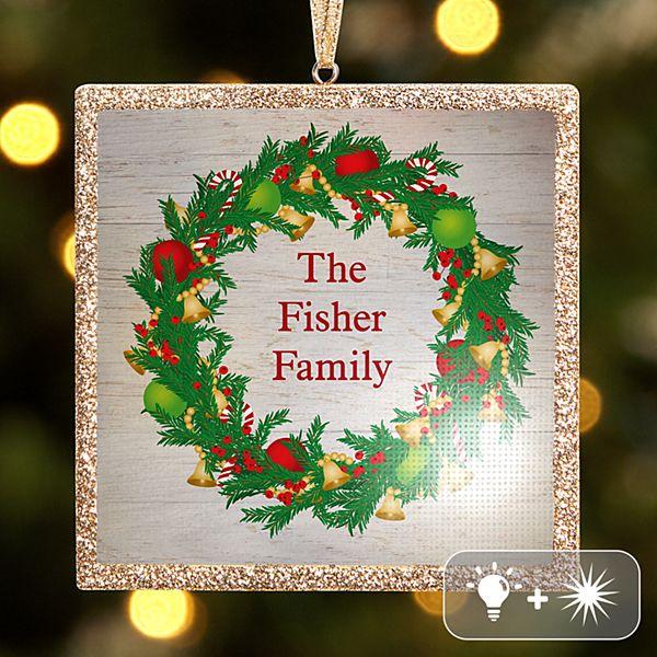 TwinkleBright® LED Christmas Wreath Ornament