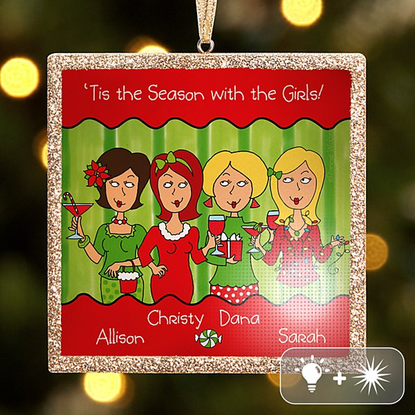 TwinkleBright® LED 'Tis the Season with the Girls Ornament
