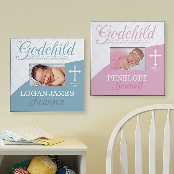 Blessings From Above Godchild Frame