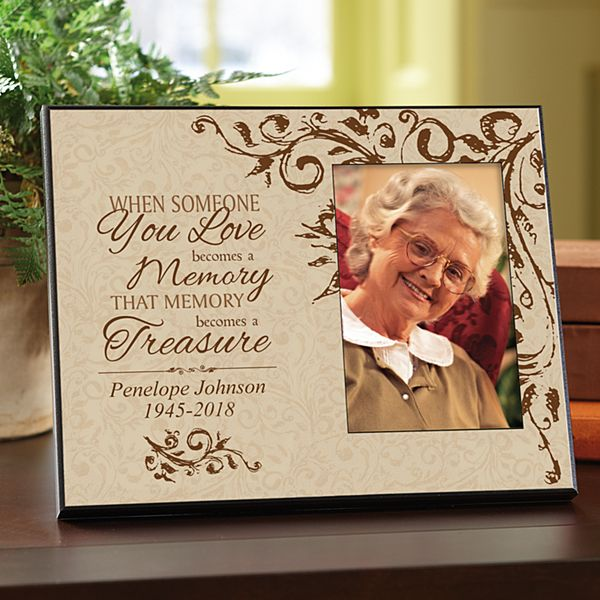 Treasured Memories Sympathy Frame