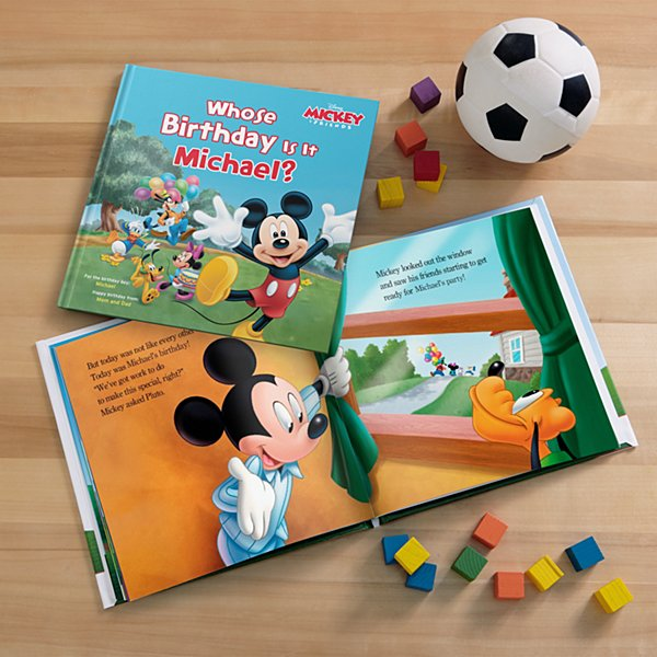 Mickey Mouse Clubhouse Whose Birthday Is It? Book