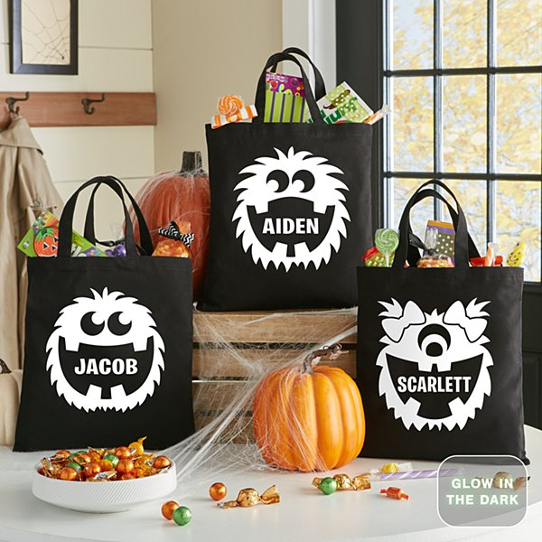 Big Mouth Pals Halloween Glow In The Dark Treat Bag