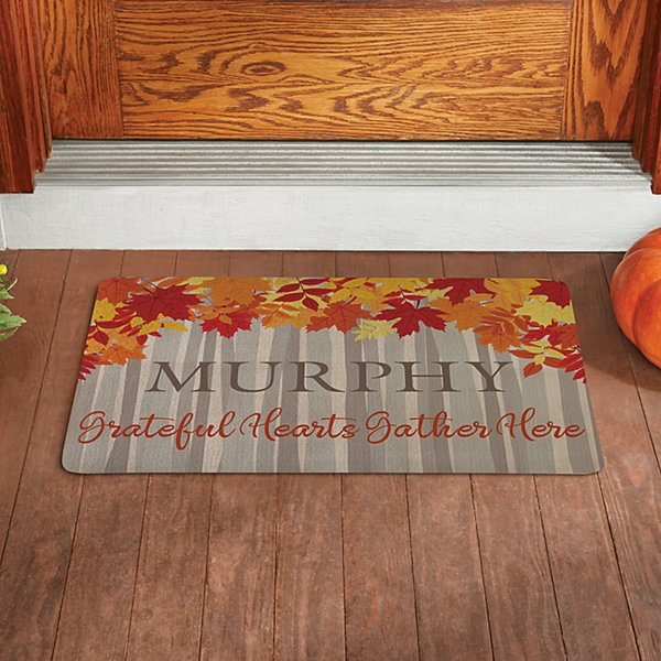 Fall Forest Doormat