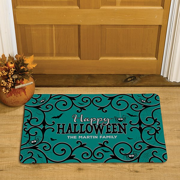 Halloween Wishes Doormat