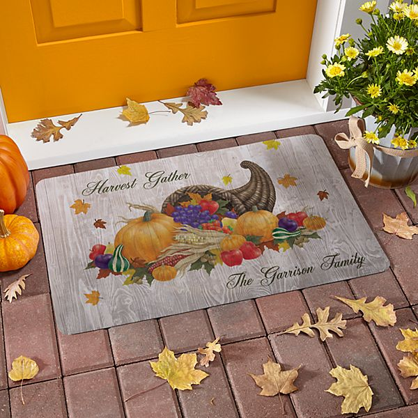 Harvest Gather Doormat