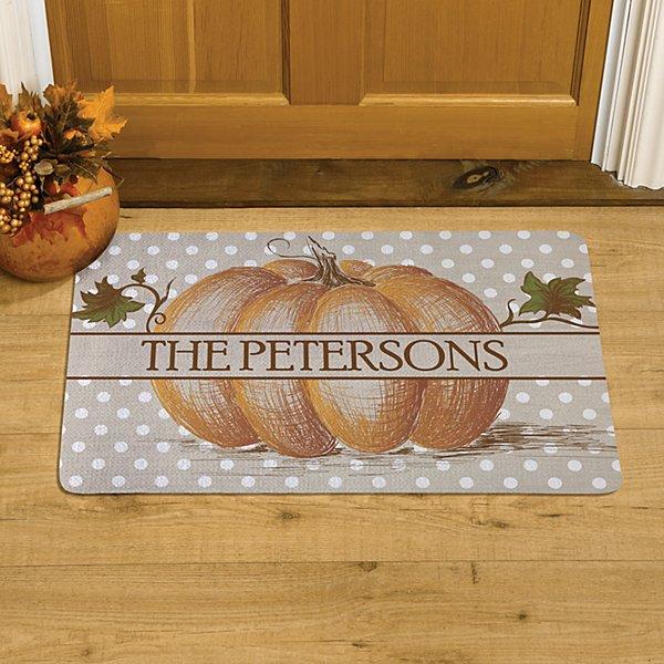 Our Little Pumpkin Patch Doormat