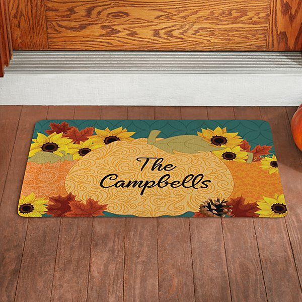 Pumpkin Scroll Doormat