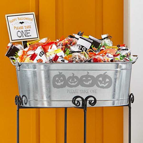 Trick-Or-Treat Beverage Tub