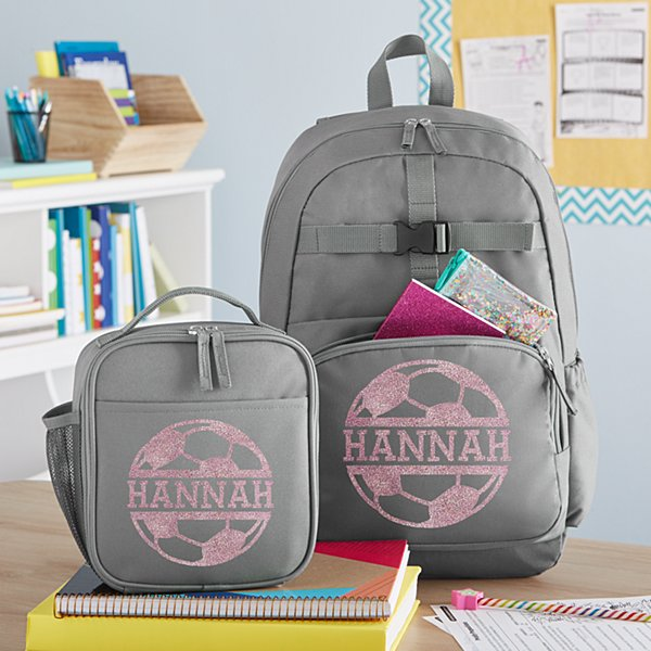 Sporty Sparkle Charcoal Backpack Collection