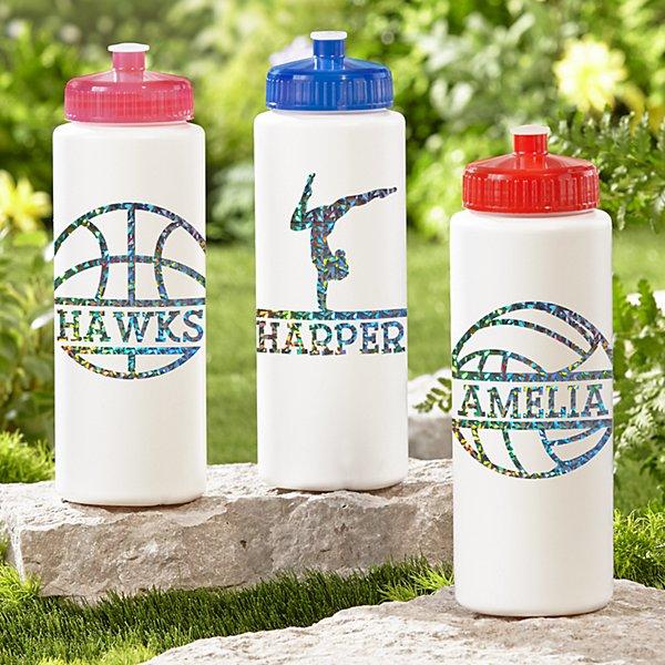 Sporty Fun Glitter 32oz Water Bottle