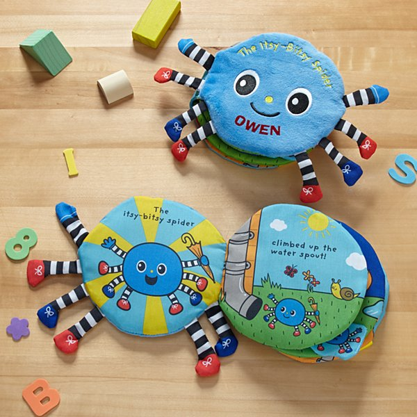 Melissa & Doug® Itsy Bitsy Spider Plush Book