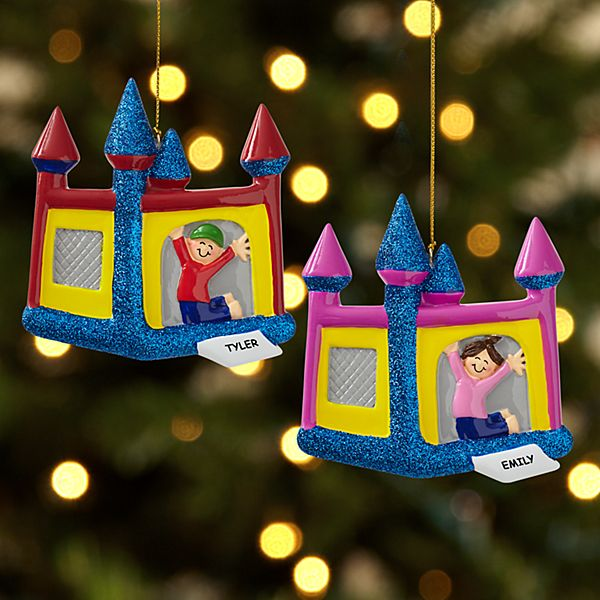Bouncy House Ornament