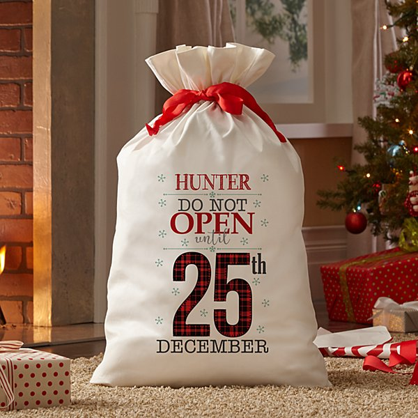 Christmas Countdown Oversized Gift Bag