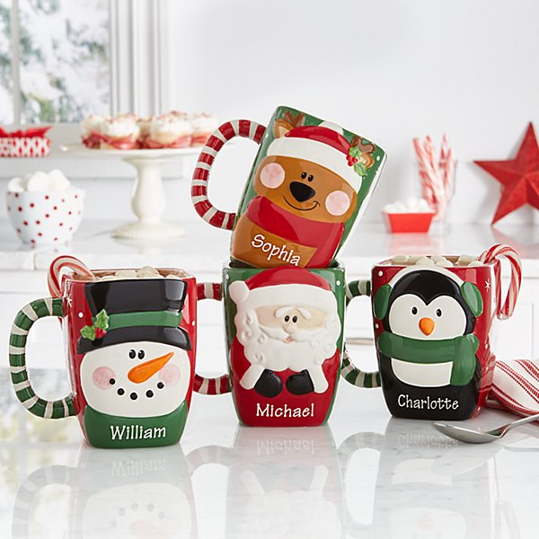 Festive Friends Christmas Mug