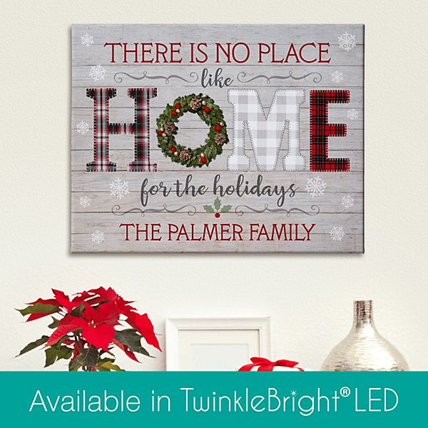 Home for the Holidays Canvas