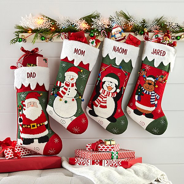 Jolly Christmas Pals Stocking