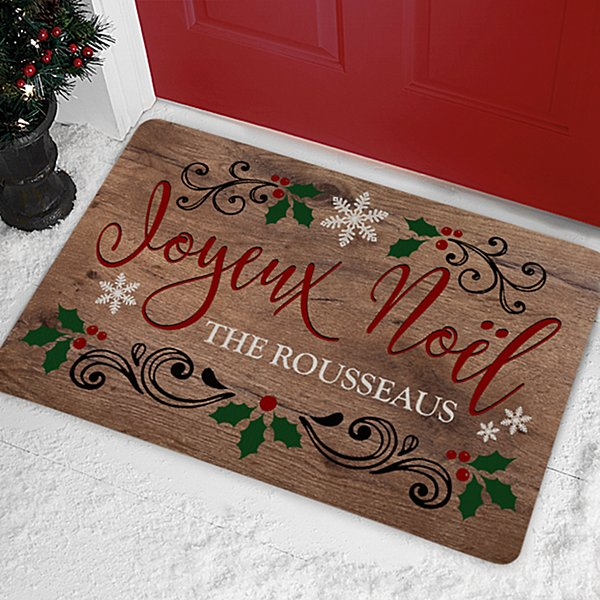 Languages of Christmas Doormat