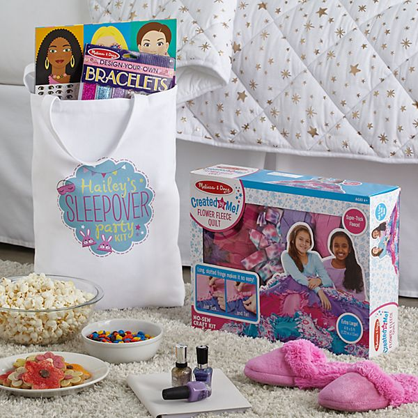 Melissa & Doug® Girls Sleepover Set