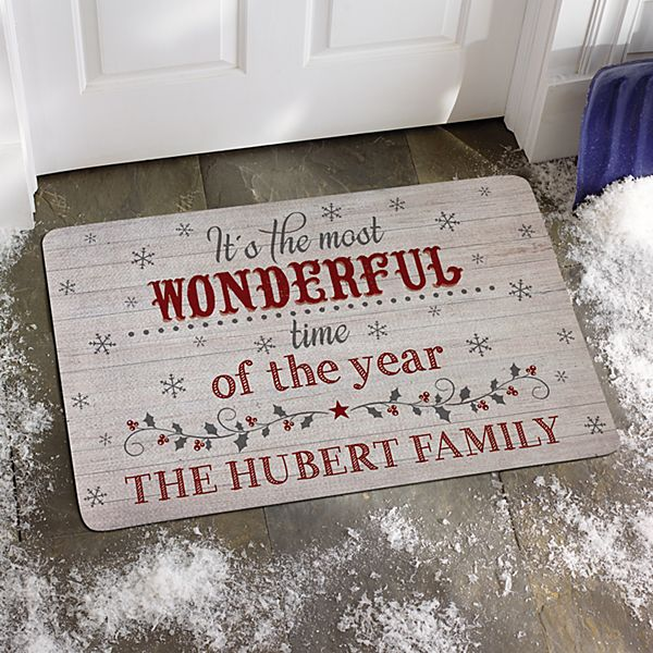 Most Wonderful Time of the Year Doormat