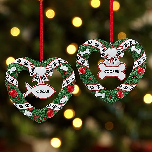 Pawprints on Our Heart Ornament