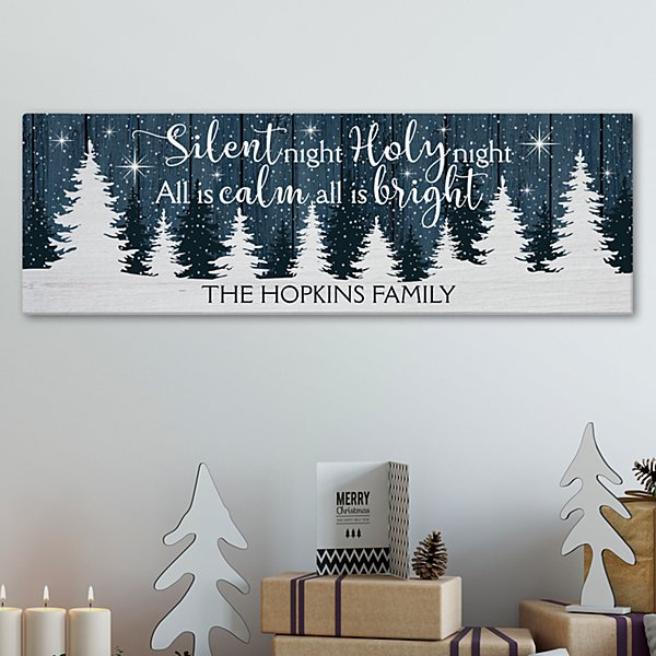 Silent Night Canvas