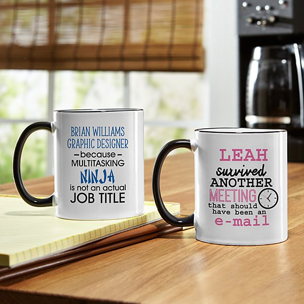 Survive The Office Mug