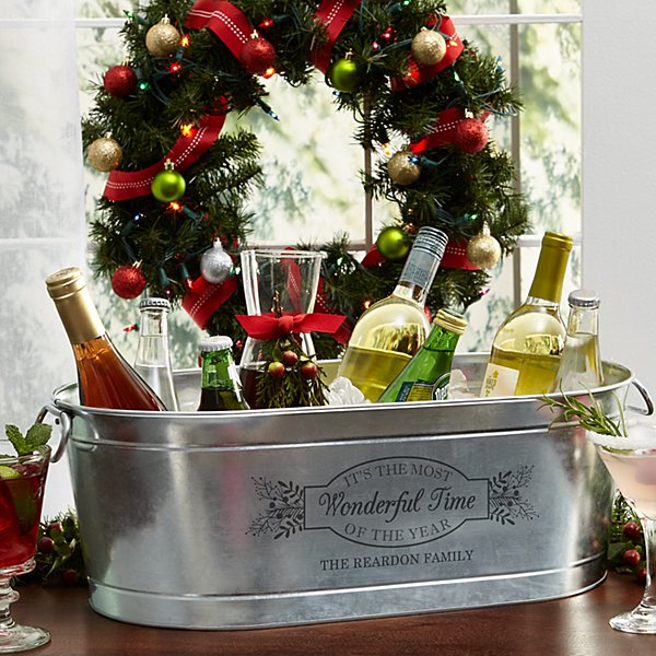 Wonderful Time of the Year Beverage Tub