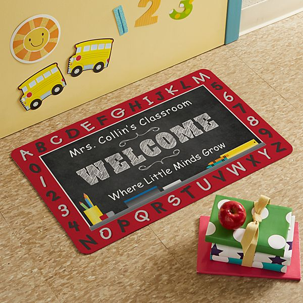 ABC Teach Me Doormat